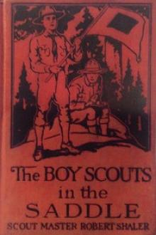 The Boy Scouts in the Saddle by Robert Shaler