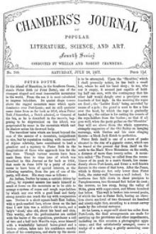 Chambers's Journal of Popular Literature, Science, and Art, No. 709