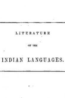 Literature of the Indian Languages