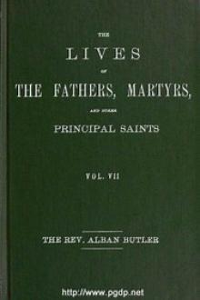 The Lives of the Fathers, Martyrs, and Other Principal Saints, Vol