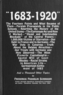 """1683-1920"""