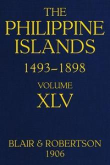 The Philippine Islands, 1493-1898, Volume XLV, 1736