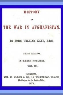 History of the War in Afghanistan, Vol. 3 (of 3)