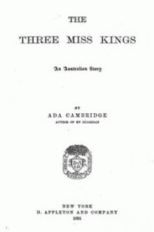 The Three Miss Kings by Ada Cambridge