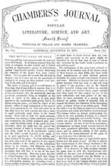 Chambers's Journal of Popular Literature, Science, and Art, No. 724