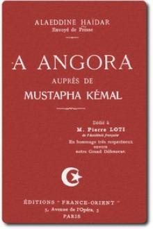 À Angora auprès de Mustafa Kemal