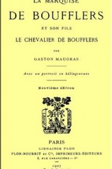 La Marquise de Boufflers et son fils
