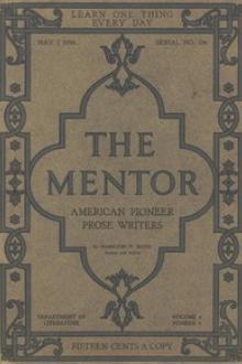 The Mentor: American Pioneer Prose Writers,