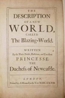The Description of a New World by Margaret Cavendish