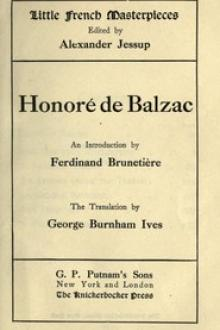 Honoré de Balzac by Honoré de Balzac