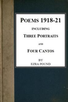Poems 1918-21 by Ezra Pound