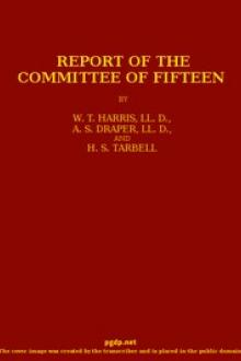Report of the Committee of Fifteen