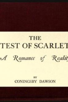 The Test of Scarlet by Coningsby Dawson