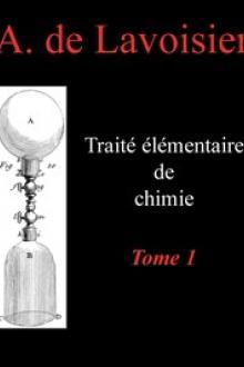 Traité élémentaire de chimie, tome 1