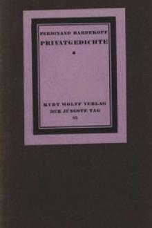 Privatgedichte