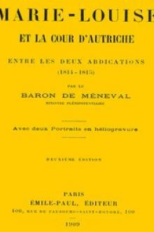 Marie-Louise et la cour d'Autriche entre les deux abdications