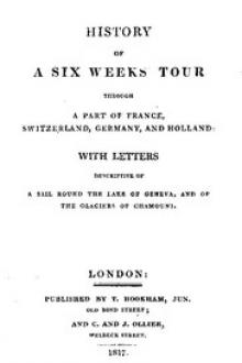 History of a Six Weeks' Tour by Mary Wollstonecraft Shelley, Percy Bysshe Shelley