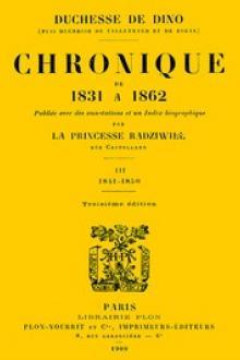 Chronique de 1831 à 1862, Tome 3