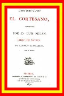 Libro intitulado El cortesano