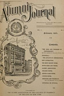 The Alumni Journal of the College of Pharmacy of the City of New York, Vol