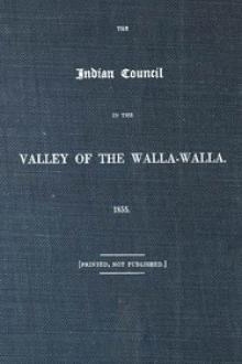 The Indian Council in the Valley of the Walla-Walla