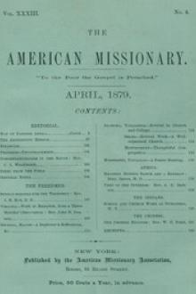 The American Missionary — Volume 33, No