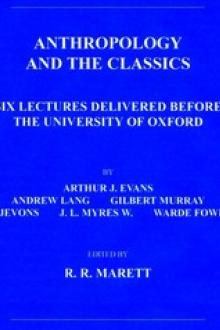 Anthropology and the Classics