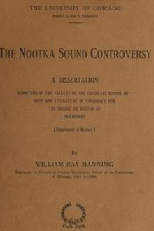 The Nootka Sound Controversy