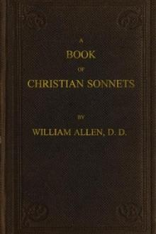 A Book of Christian Sonnets by William Ferneley Allen