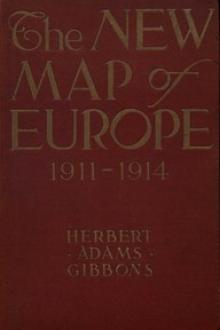 The New Map of Europe (1911-1914)