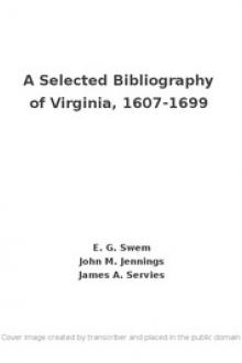 A Selected Bibliography of Virginia