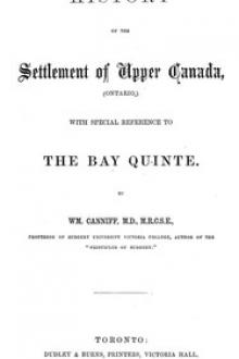 History of the settlement of Upper Canada (Ontario,)