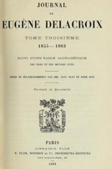 Journal de Eugène Delacroix, Tome 3