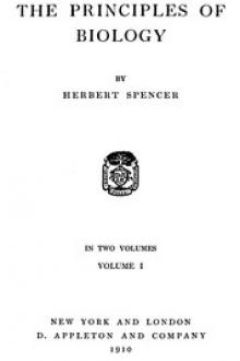 The Principles of Biology, Volume 1