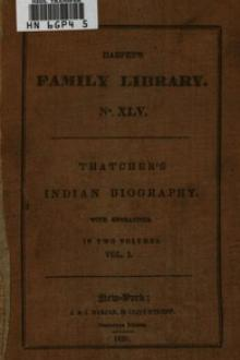 Indian Biography; Vol. 1 of 2