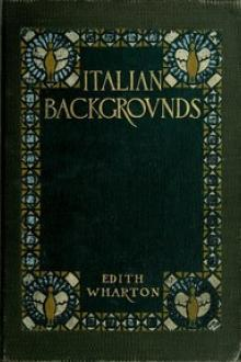 Italian Backgrounds by Edith Wharton