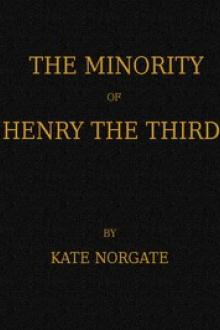 The Minority of Henry the Third