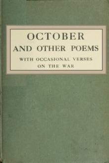 October and Other Poems