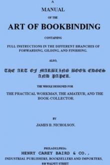A Manual of the Art of Bookbinding