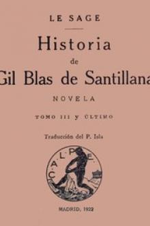 Historia de Gil Blas de Santillana: Novela (Vol 3 de 3)