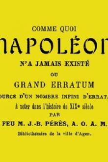 Comme quoi Napoléon n'a jamais existé