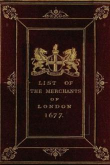 The Little London Directory of 1677