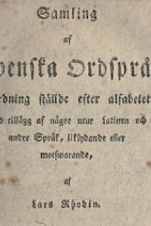 Samling af Swenska Ordspråk