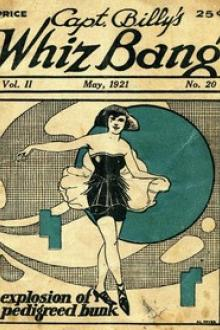 Captain Billy's Whiz Bang, Vol. 2, No. 20, May, 1921