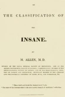 Essay on the Classification of the Insane by Matthew Allen