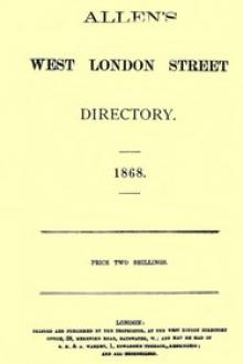 Allen's West London Street Directory by Samuel Allen