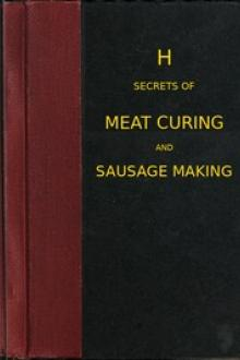 Secrets of meat curing and sausage making by Benjamin Heller & Co.