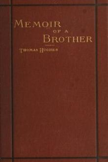 Memoir of a Brother by Thomas Hughes