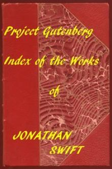 Index of the Project Gutenberg Works of Jonathan Swift by Jonathan Swift
