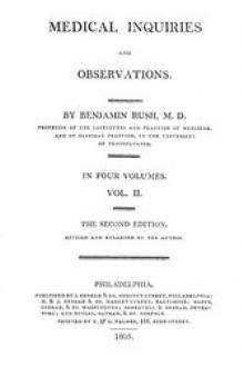 Medical Inquiries and Observations, Vol. II (of 4)